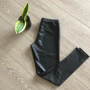 Out from Under Faux Leather Legging Vegan Friendly